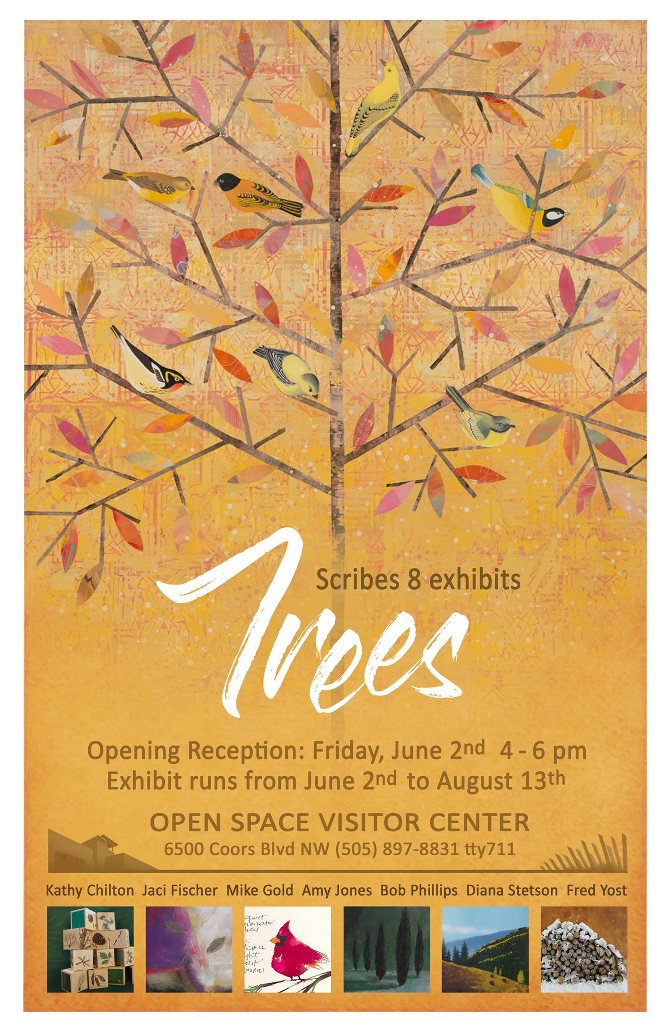 Trees Exhibit at Open Space